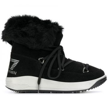 Lace-up Boots - Ea7 Emporio Armani