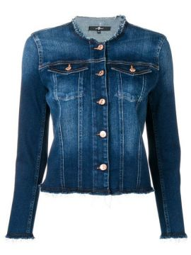 Round Neck Jacket - 7 For All Mankind