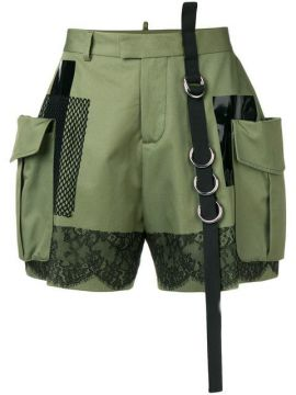 High-waisted Cargo Short - Dsquared2