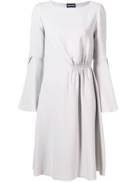 Bell Sleeve Dress - Giorgio Armani