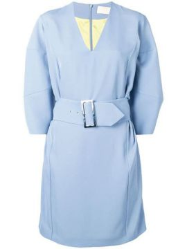 Belted Waist Dress - Sara Battaglia