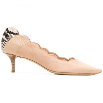 Scalloped Pumps - Chloé