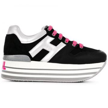 Logo Lace-up Sneakers - Hogan