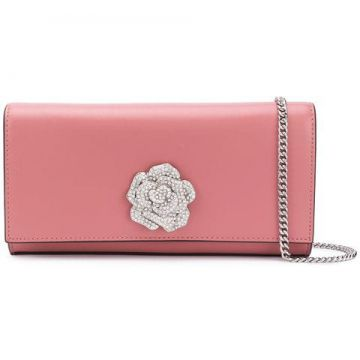 Floral Embellished Clutch Bag - Michael Michael Kors