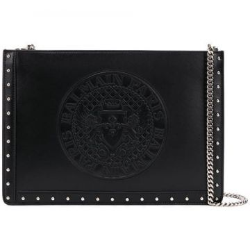 Logo Chain Clutch - Balmain