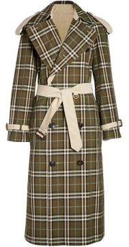 Check Trench Coat - Burberry