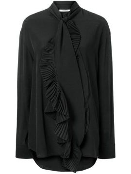 Ruffled Scarf Neck Blouse - Givenchy