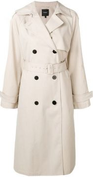 Belted Trench Coat - Theory