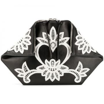Embroidered Clutch - Alexander Mcqueen