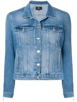 Side Stripe Buttoned Jacket - 7 For All Mankind