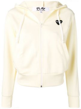 Logo Embroidered Hoodie - Comme Des Garçons Play