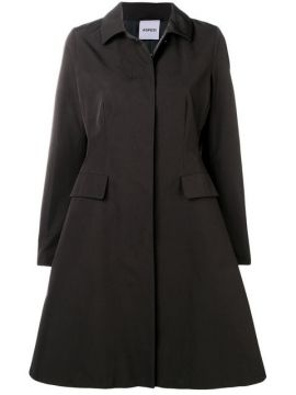 Button Flared Coat - Aspesi