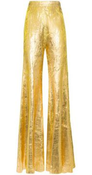 High-waisted Flared Trousers - Halpern