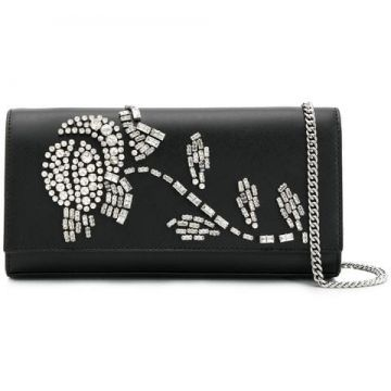 Crystal Flower Clutch - Michael Michael Kors