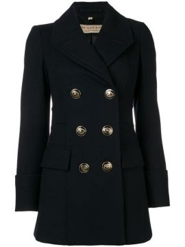 Double Breasted Short Coat - Burberry