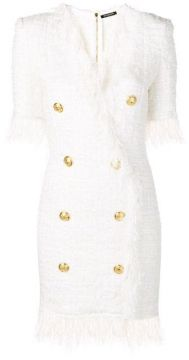 Blazer Tweed Dress - Balmain