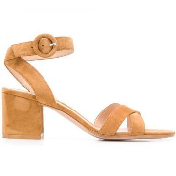 Chunky Heel Sandals - Gianvito Rossi