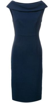 Boat Neck Midi Dress - P.a.r.o.s.h.