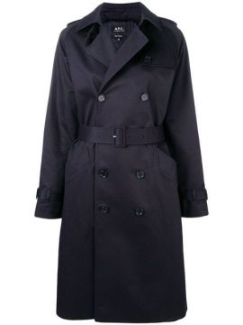 Trench Coat Com Cinto - A.p.c.