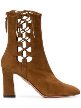 Cut Out Detailed Boots - Aquazzura