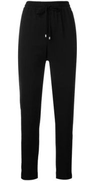 Drawstring Fitted Trousers - Dkny