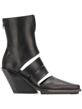 Cut-out Ankle Boots - Ann Demeulemeester