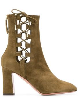 Cut-out Detailed Boots - Aquazzura