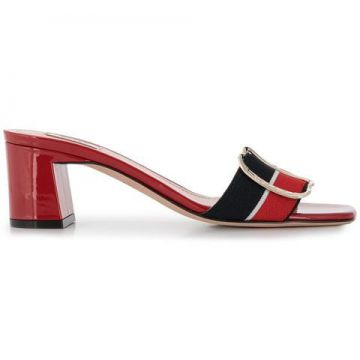 Side Buckle Sandals - Bally