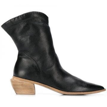 Pointed Angled Heel Boots - Marsèll