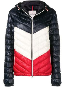 Zipped Padded Jacket - Moncler