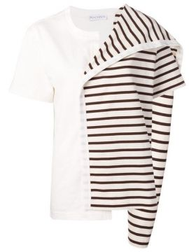 Contrast Panel Striped Top - Jw Anderson