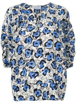 Loose-fit Printed Blouse - Christian Wijnants