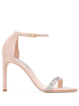 Nudist Song Suede Sandals - Stuart Weitzman
