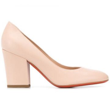 Round Toe Pumps - Baldinini