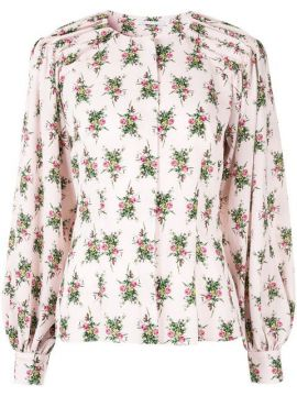 Rose Print Blouse - Emilia Wickstead