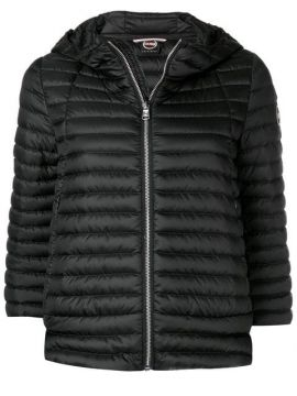 Cropped Sleeves Padded Jacket  - Colmar
