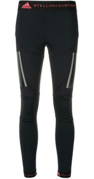 Calça Legging Com Logo - Adidas By Stella Mccartney