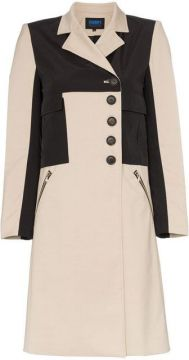 Division Utility Pocket Single-breasted Coat - Charms