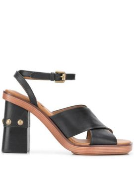 Chunky Heel Sandals - See By Chloé