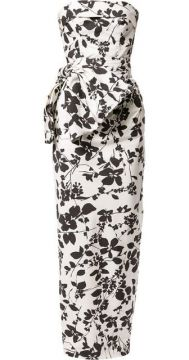 Floral Pencil Gown - Bambah