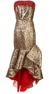 Mermaid Bow Gown - Bambah