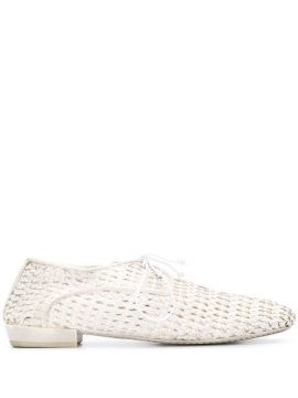 Woven Lace-up Shoes - Marsèll