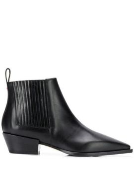 Pointed Toe Ankle Boots  - Aeyde