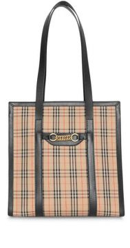 Bolsa Tote Xadrez the Small 1983 - Burberry