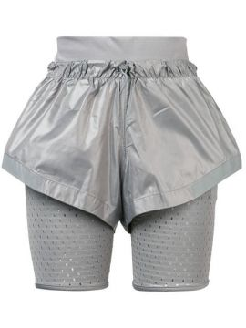 Short Com Sobreposições - Adidas By Stella Mccartney