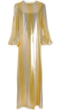 Striped Metallic Dress - By. Bonnie Young
