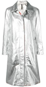 Metallic Trench Coat - Santoni