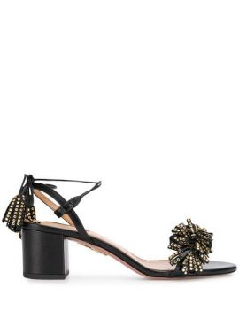 Embellished Tassel Sandals - Aquazzura