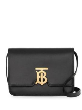 Small Leather Tb Bag - Burberry