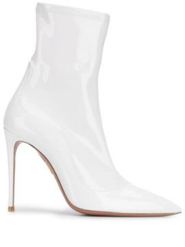 Varmished Pointed-toe Boots - Aquazzura
